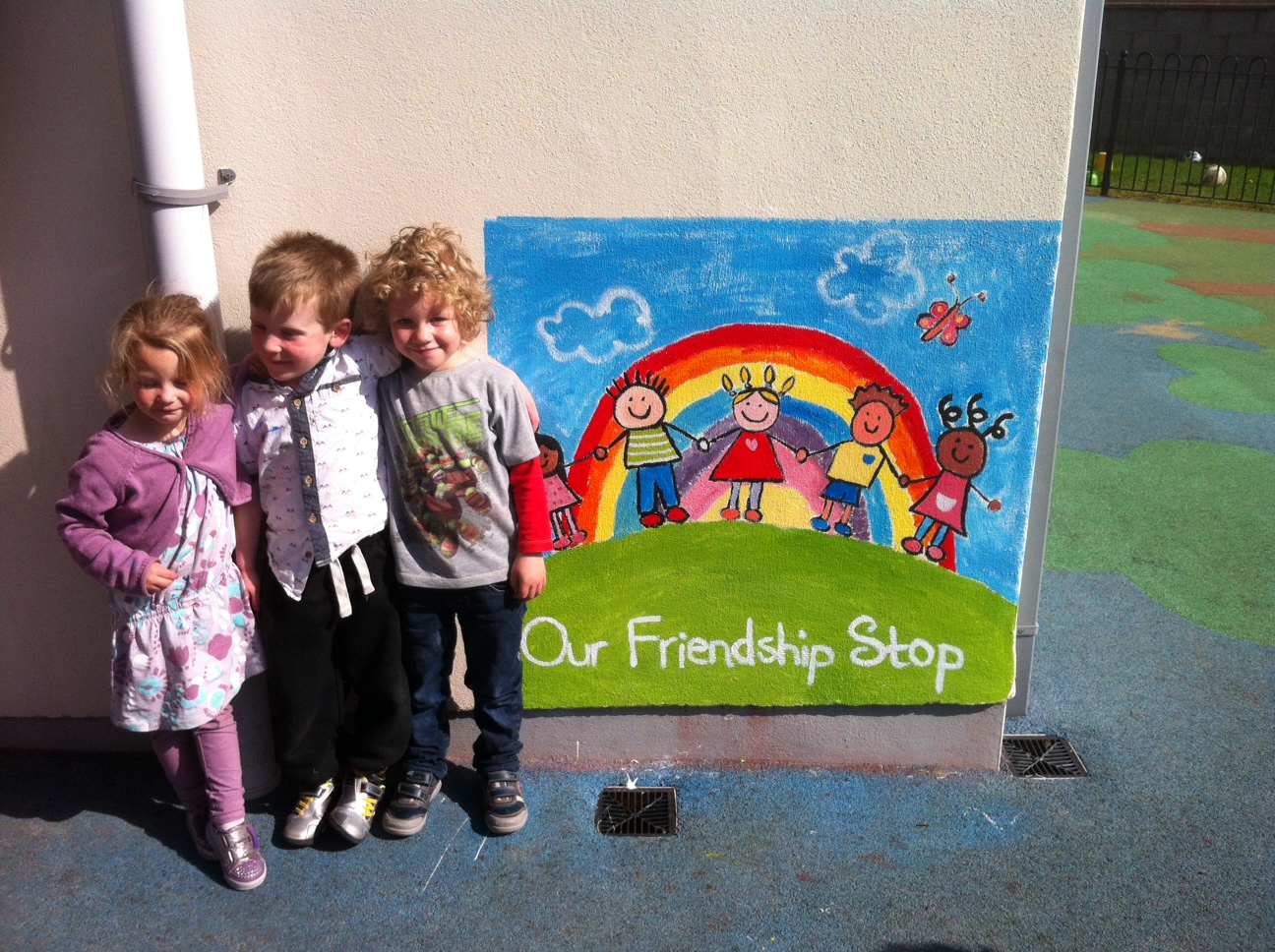 A Friendship Stop at Crawford