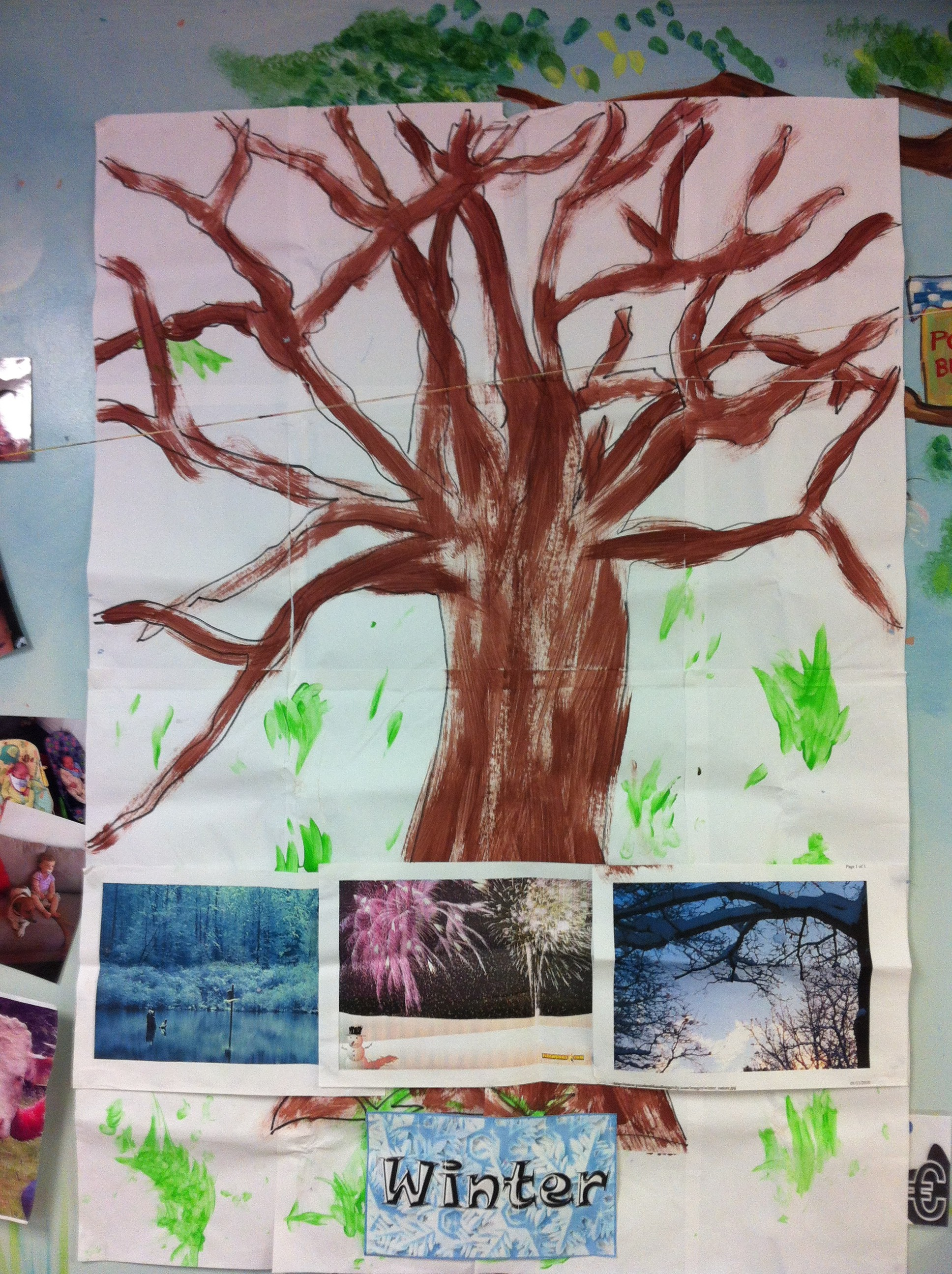 Winter comes to Crawford Childcare