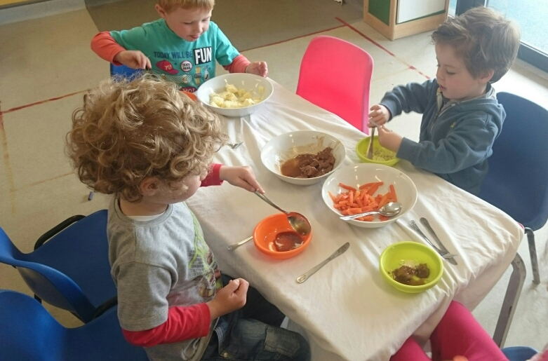 Dining at Crawford Childcare