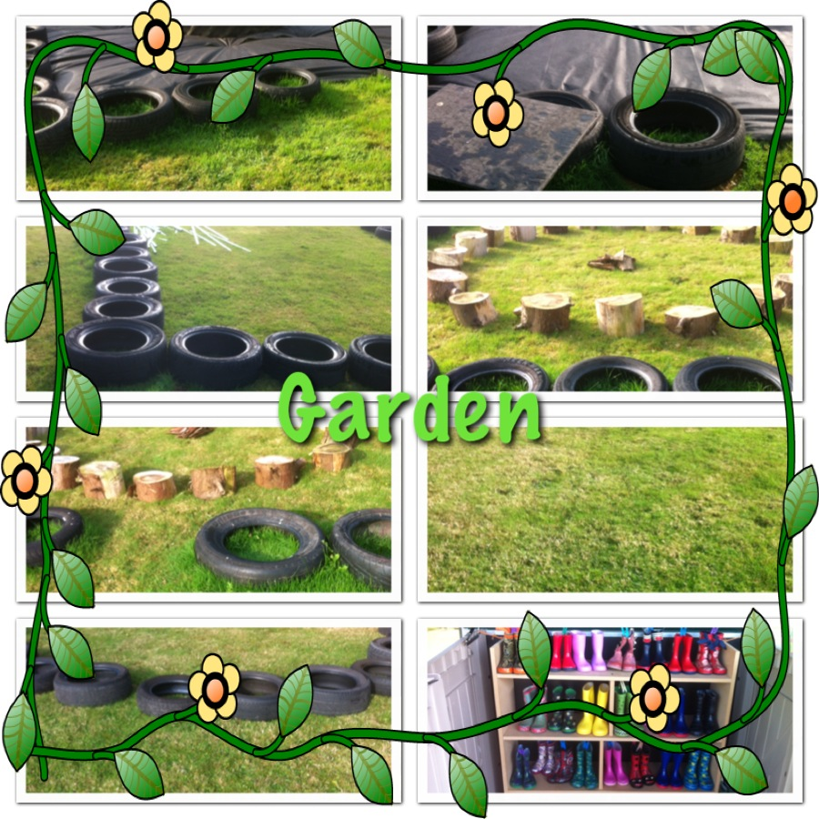 Help us to create a new outdoor play area