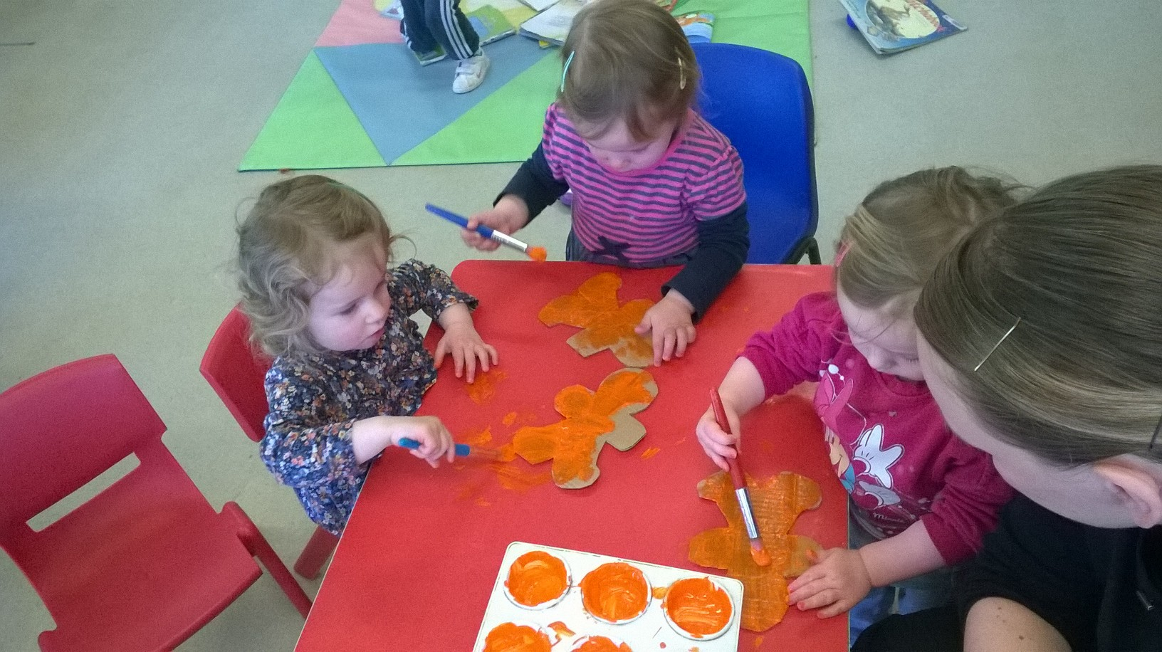 Gingerbread Toddlers at Crawford Childcare