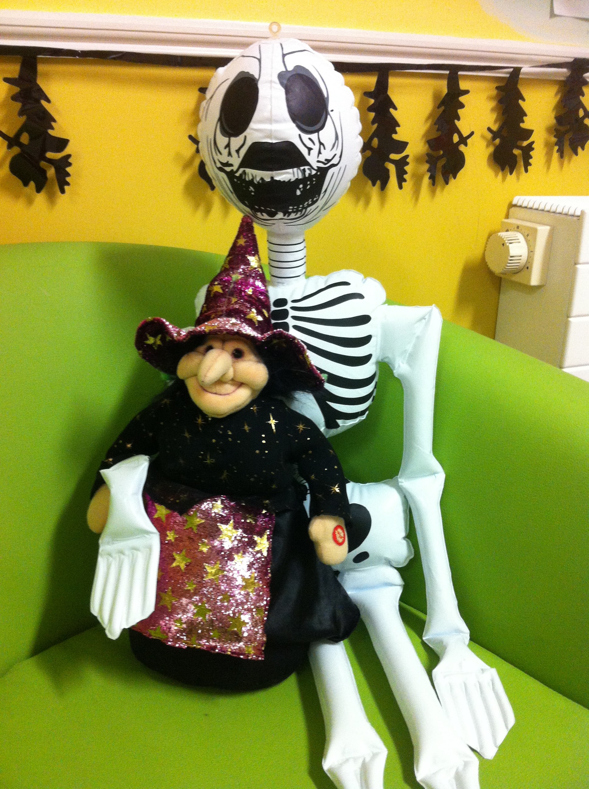 Halloween preparations are underway at Crawford Childcare