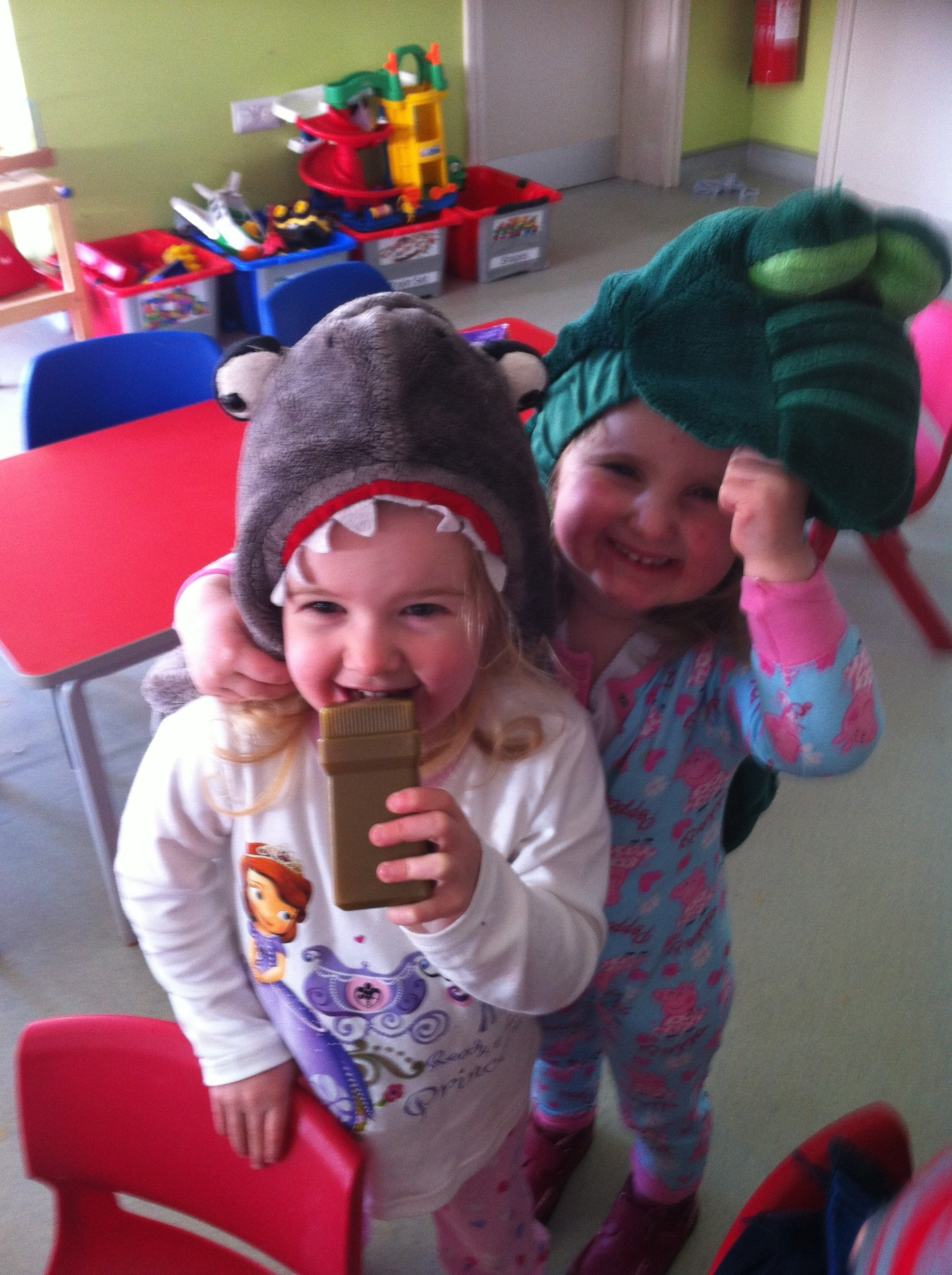 Is your child happy in creche?