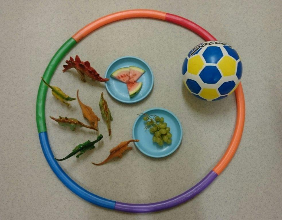 Hula Hoops, Footballs, Dinosaurs, Watermelons and Grapes – Look what Crawford Childcare have been up to this week