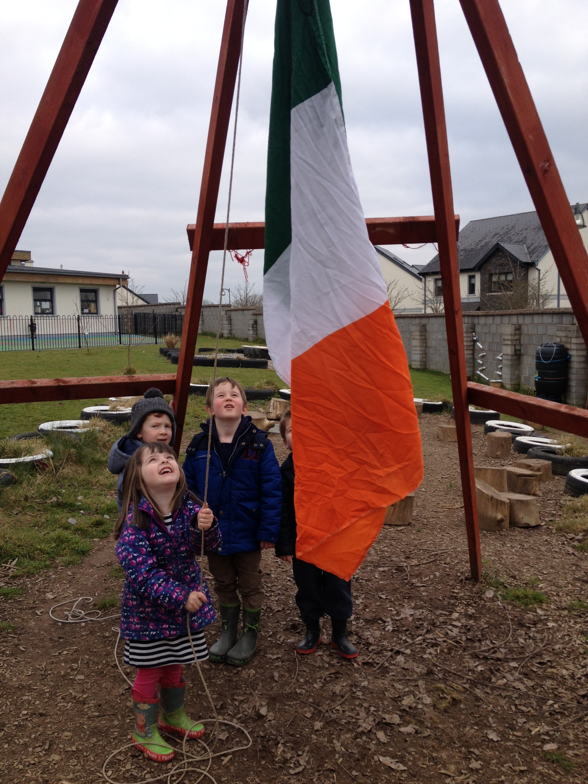 St Patrick's Day continues at Crawford Childcare