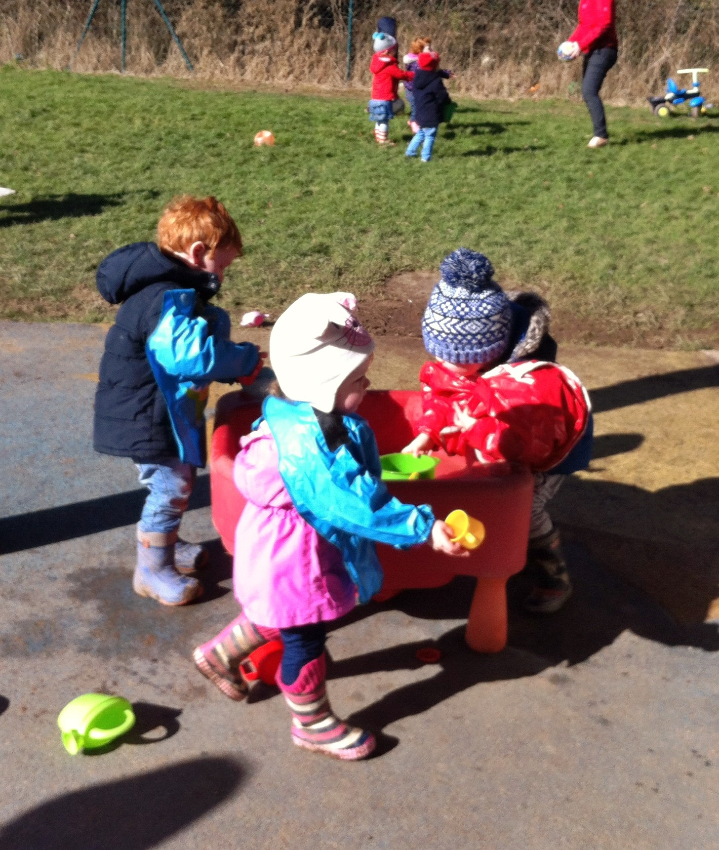 Play and learn at Crawford